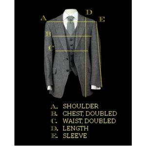 Vintage Suits & Blazers - Vintage 80s Men's Pinstripe 3 Piece Vested Suit